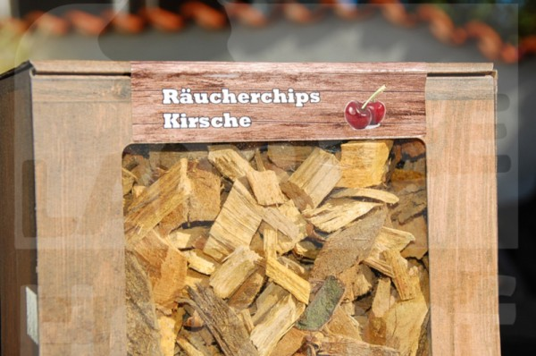 Räucherchips mittel Kirsche 3L - Landree