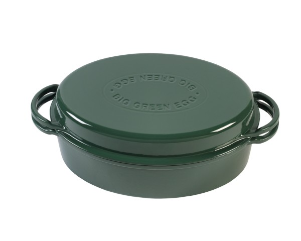 Topf / Dutch Oven oval 35cm 5,2l - Big Green Egg